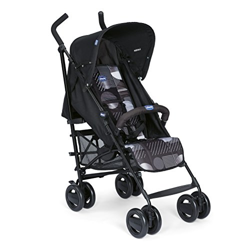 Chicco London - Silla de paseo, 7.2 kg, compacta y manejable, color negro estampado (Matrix)